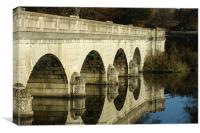 Reflected Arches, Canvas Print