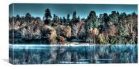 Surreal Lake, Canvas Print