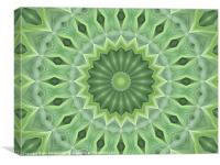 Green Beauty, Canvas Print