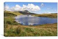 Loch Fada to Old Man Of Storr, Canvas Print