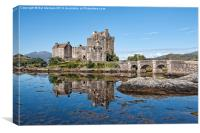 Eilean Donan Castle Reflections, Canvas Print
