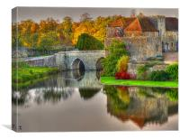 GateHouse In Autumn