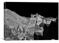 Hastings East Cliff Railway, Canvas Print