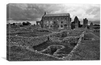 St Marys Priory, Canvas Print