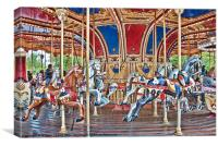 Carousel, Canvas Print