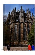 Cathedral Watching, Canvas Print