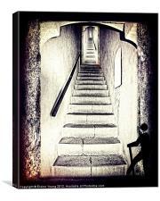 39 Steps, Canvas Print