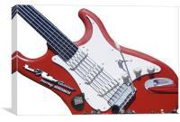 Biggiest Guitar In The World, Canvas Print