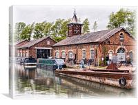 Old Ironworks, Canvas Print