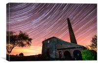 Middleton Top Star Trails, Canvas Print