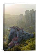 Meteora Monastery, Canvas Print