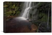 Middle Black Clough, Canvas Print