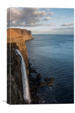 Kilt Rock Waterfall, Canvas Print