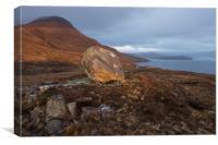 Scotland Standing Stone, Canvas Print