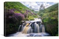 Fair Brook Waterfall , Canvas Print