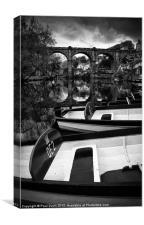 Knaresborough boats, Canvas Print