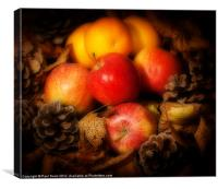Apples and Oranges, Canvas Print