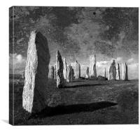 Standing stones, Canvas Print