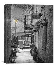 Bleak mid winter, Canvas Print