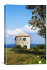 The Windmill, Canvas Print