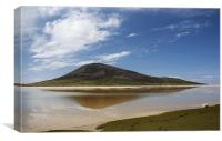 Mountain Reflection, Canvas Print
