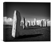 Callanish Standing Stones, Canvas Print