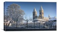 Viborg Cathedral, Canvas Print