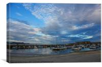 Lyme Regis Harbour, Canvas Print