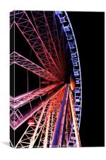Brightons Wheel, Canvas Print