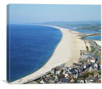 Chesil Beach, Canvas Print