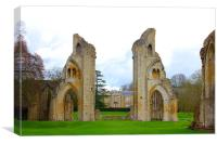 The Abbey Arches, Canvas Print