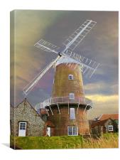Cley Windmill, Canvas Print