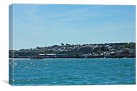 Padstow, Canvas Print