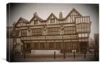 Southampton's Tudor House, Canvas Print