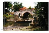 Aylesford Bridge, Canvas Print