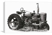 Tritone Tractor, Canvas Print