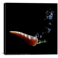 Carrot Juice, Canvas Print