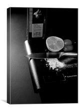 Kitchen moments, Canvas Print