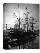 RSS Discovery, Canvas Print