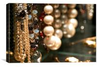 Pearls and Beads, Canvas Print