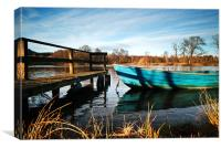 Rohallion Loch, Canvas Print