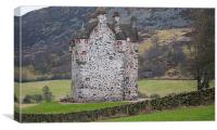 Forter Castle, Canvas Print