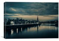 Perth at dawn, Canvas Print