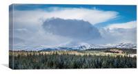 Highland Range, Canvas Print