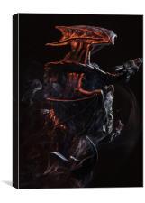 Dragonborn, Canvas Print