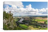 View from Kinnoull, Canvas Print