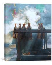Smoking, Canvas Print