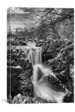 Falls of Braan, Canvas Print