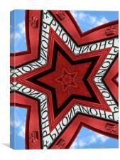 phone star, Canvas Print