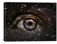 staring into space, Canvas Print